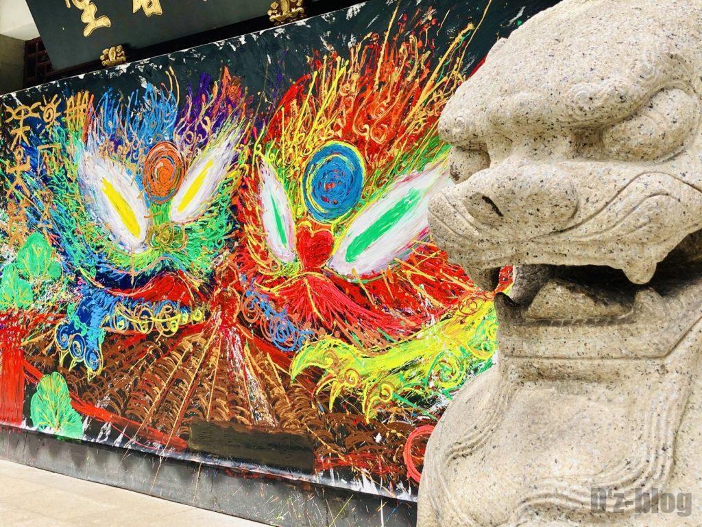 上海豫园 壁絵