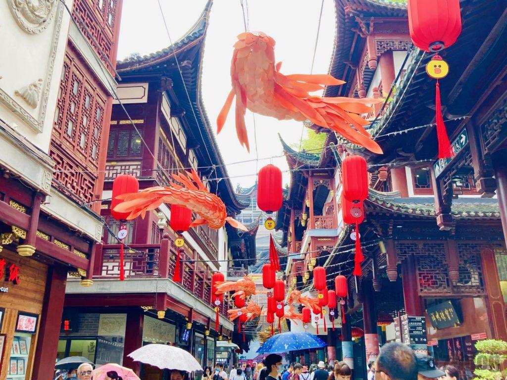 上海豫园金魚提灯