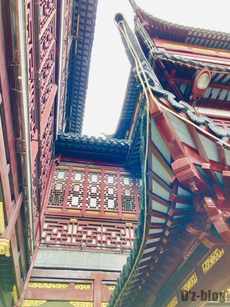 上海豫园屋根