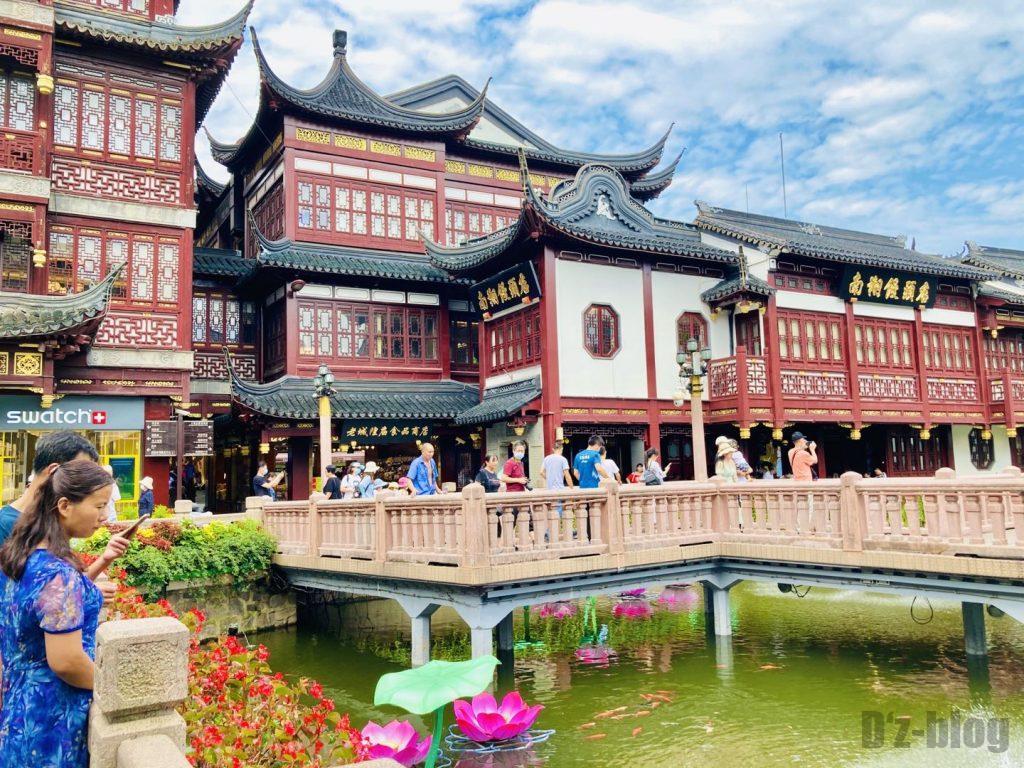 上海豫园庭園の橋