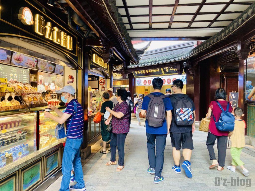 上海豫园小道の飲食店