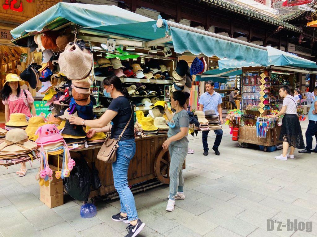 上海豫园出店帽子