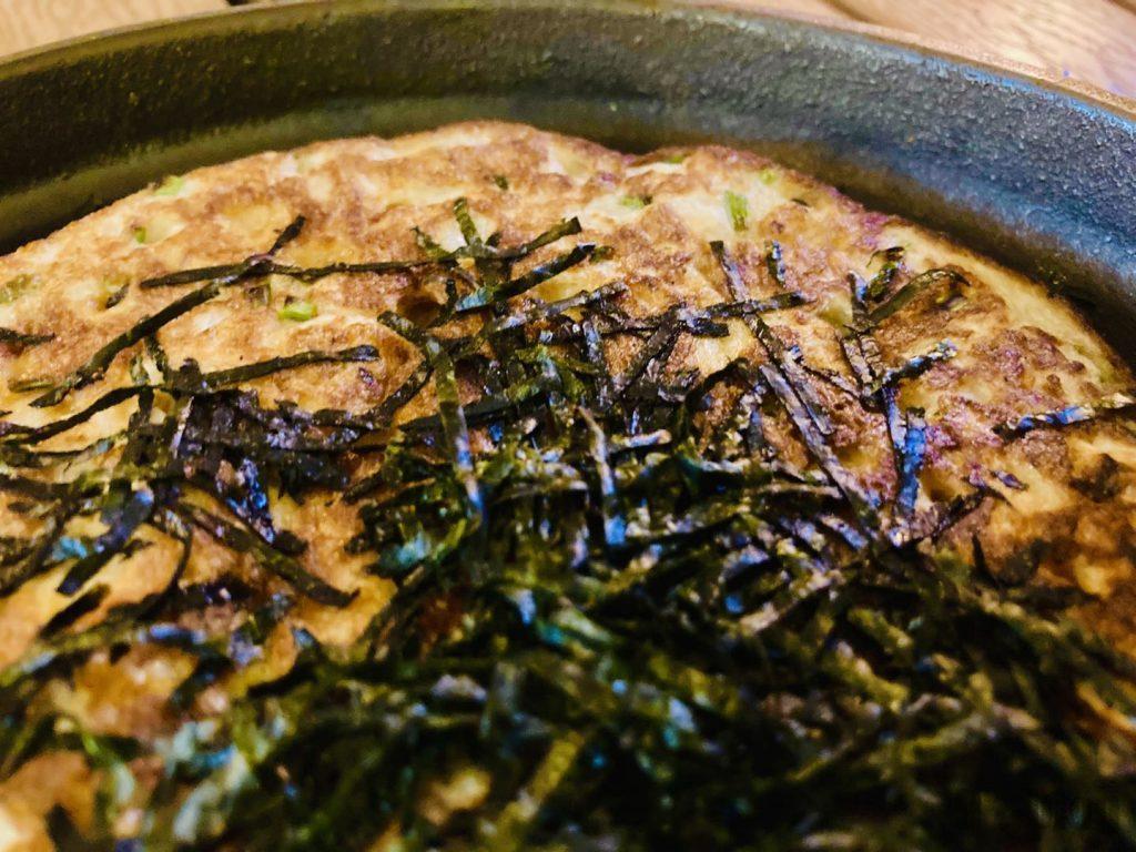 上海舌助 山芋の鉄板焼き