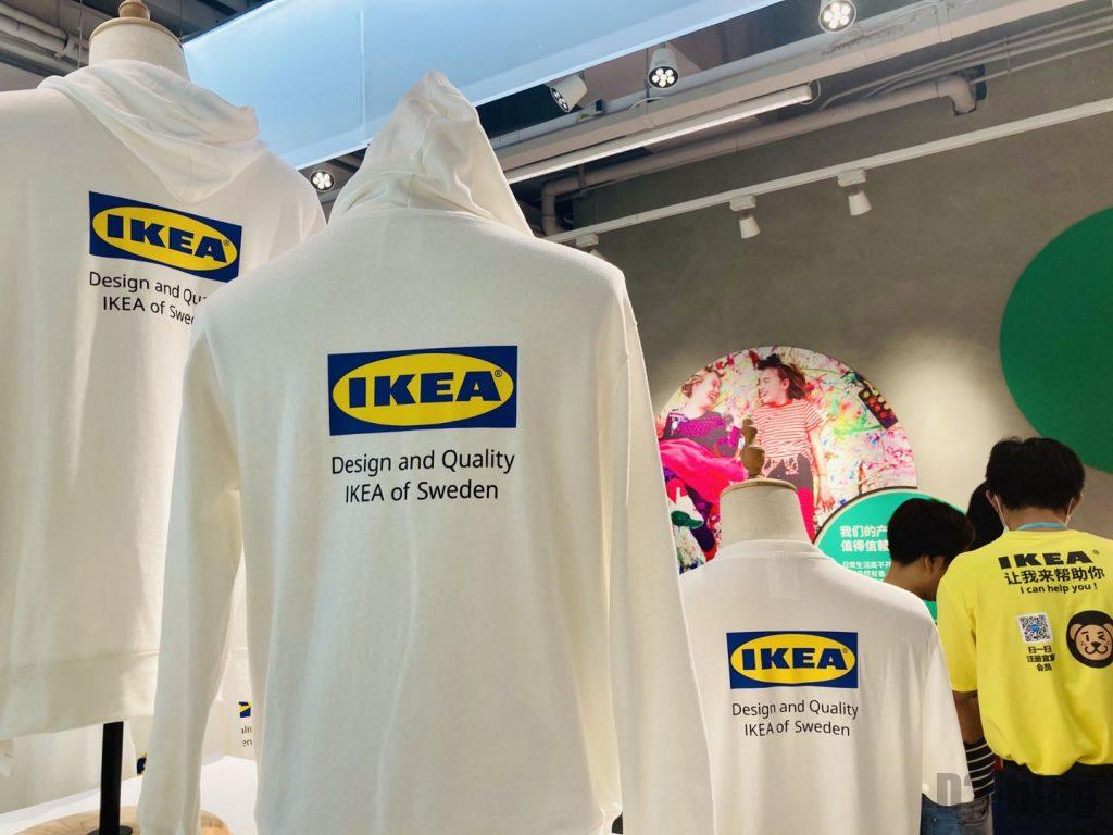 上海IKEA CITY IKEAロゴ服