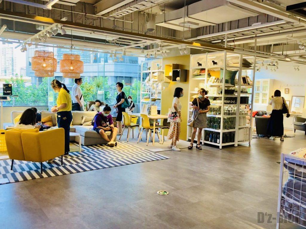 上海IKEA CITY 店内雰囲気