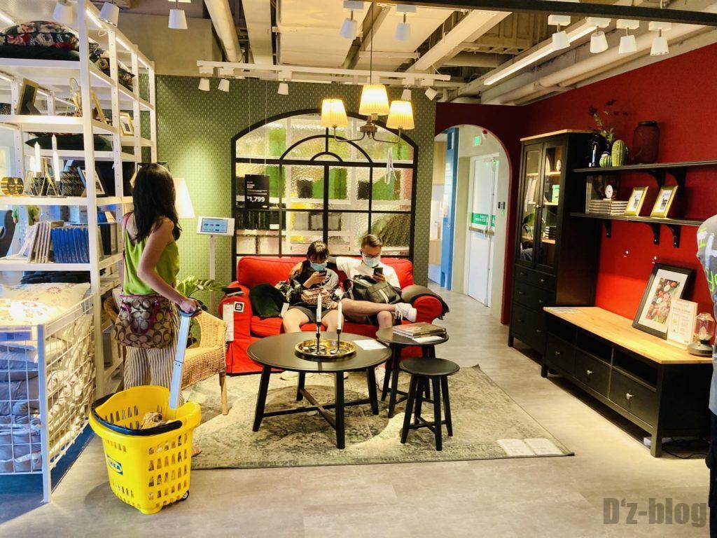 上海IKEA CITY リビングモデル全体