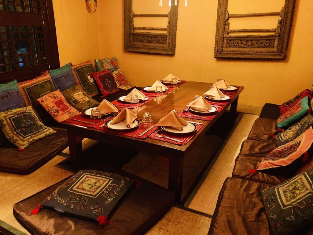 上海ネパールキッチン個室
