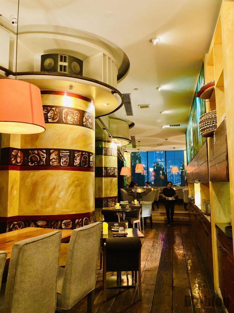 上海メキシコ料理MAYITA店内
