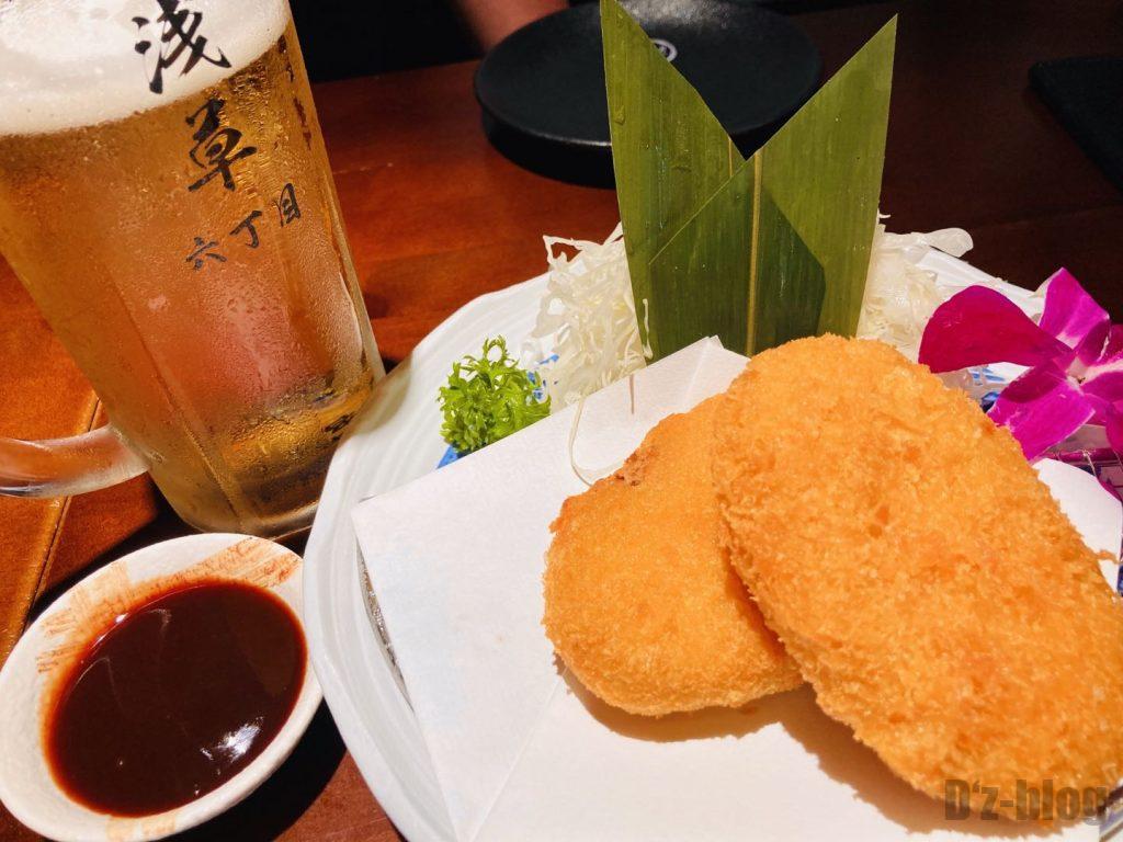上海浅草六丁目コロッケ