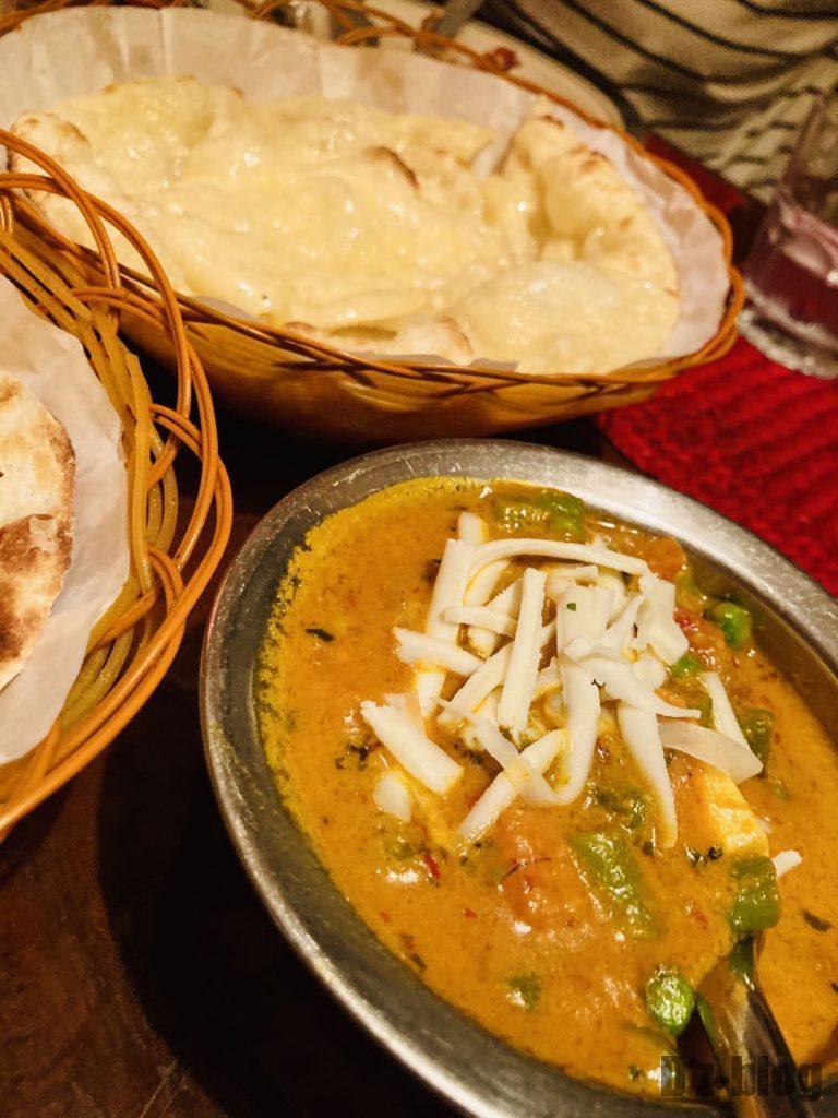 上海ネパールキッチンチーズカレー