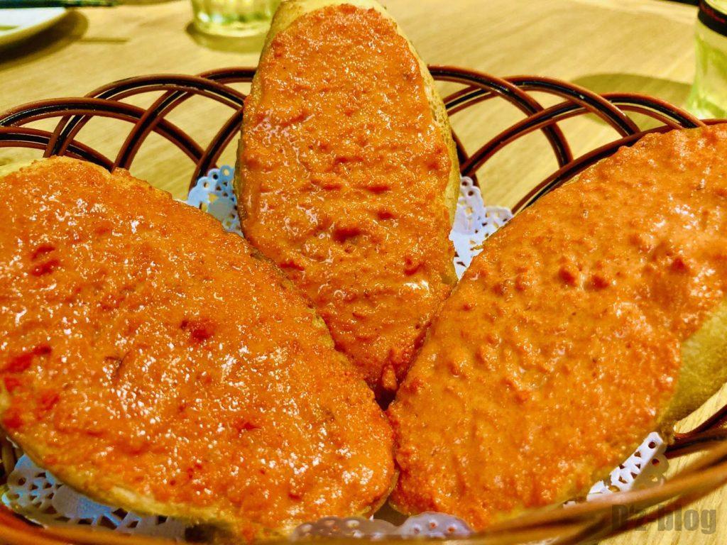 上海ビッテロ明太子フランスパン