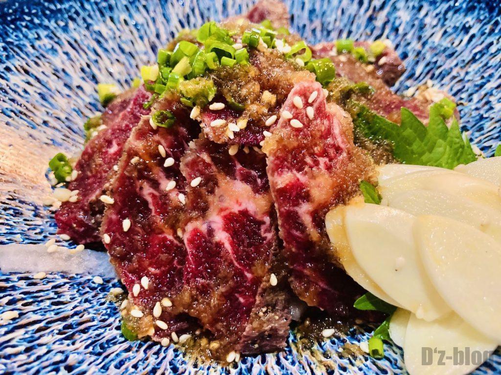上海おもてなし牛肉タタキ