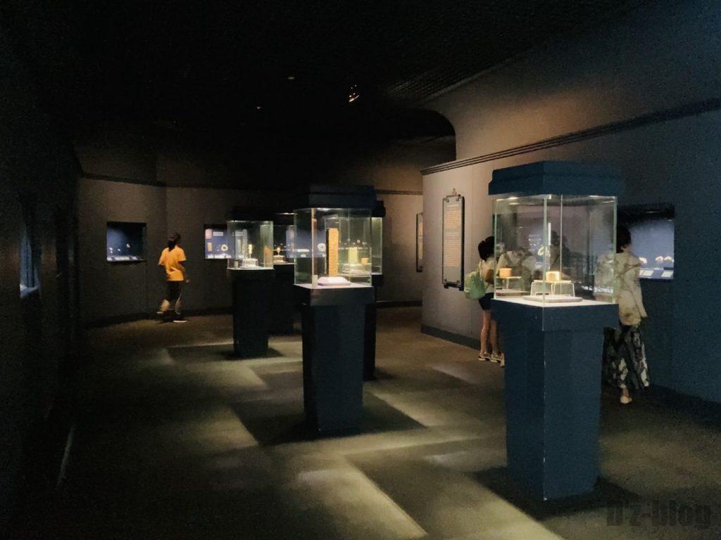 上海博物館玉器館内