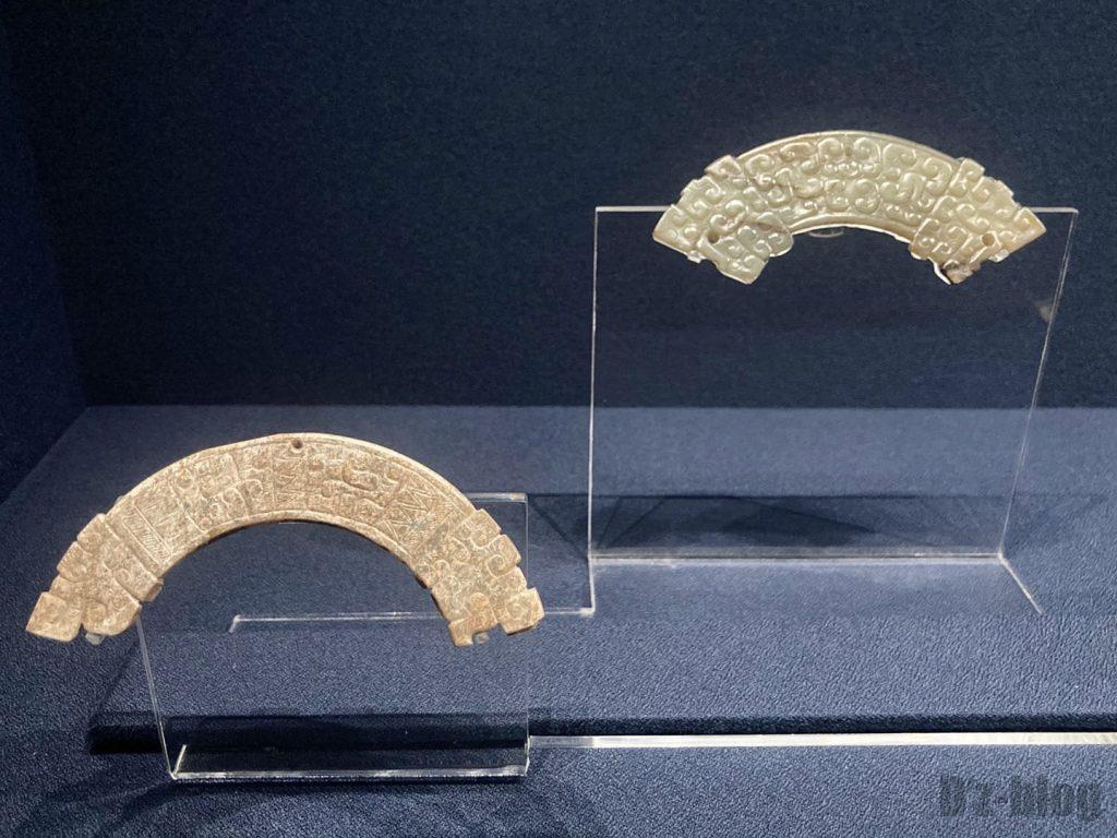 上海博物館玉器髪飾り