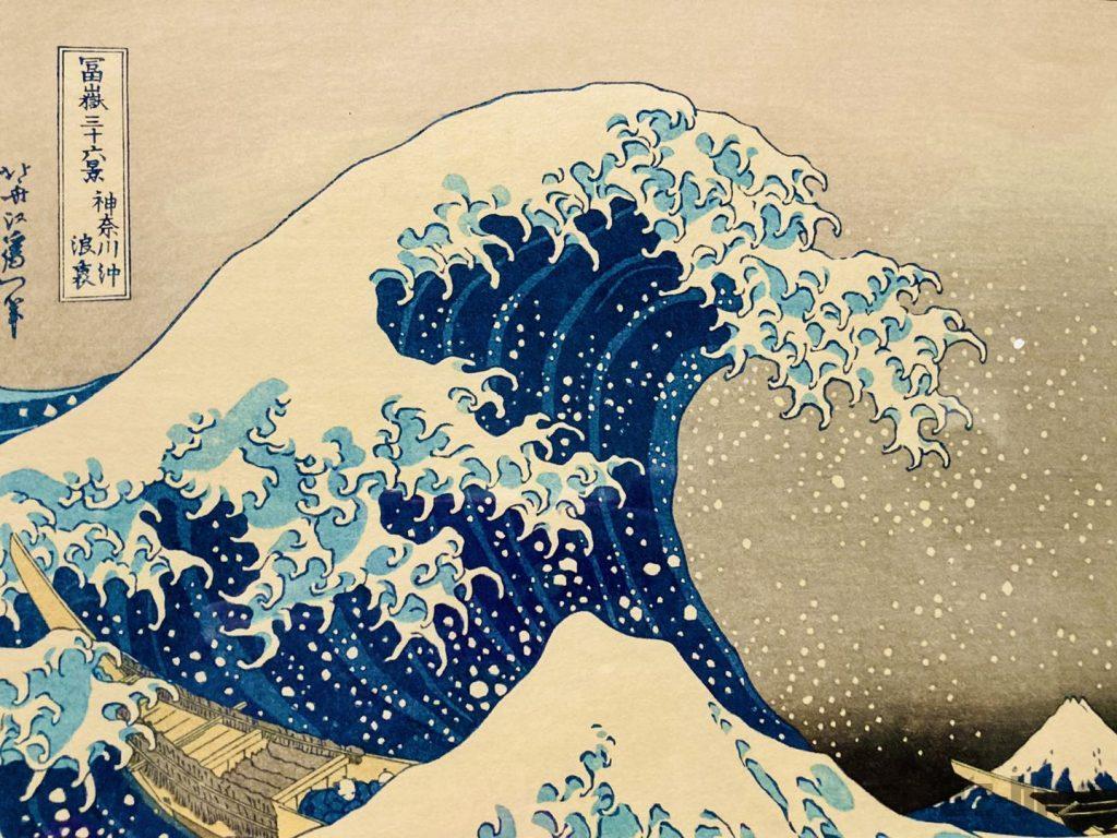 上海浮世絵津波