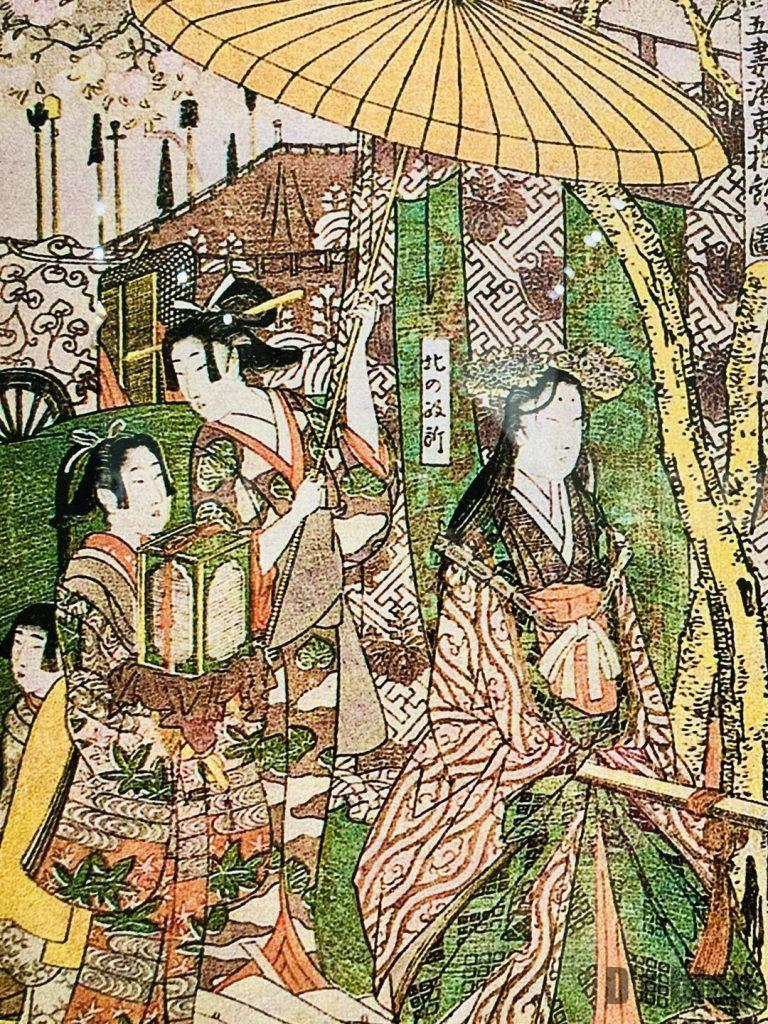 上海浮世絵貴族と御つき