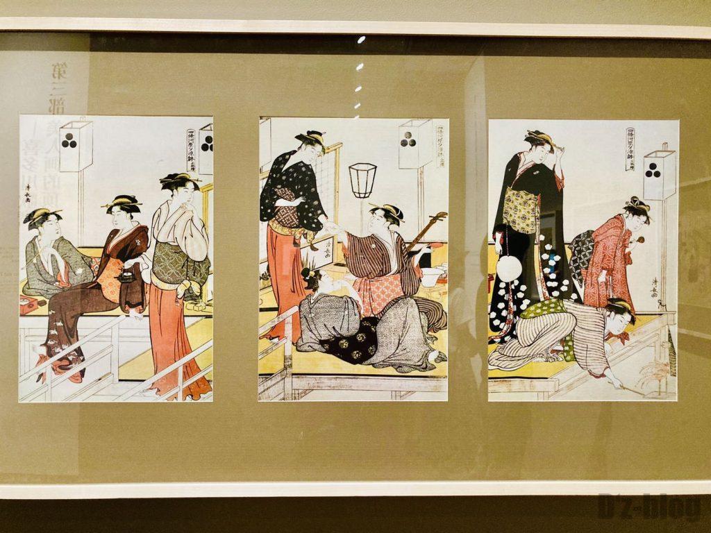 上海浮世絵芸者
