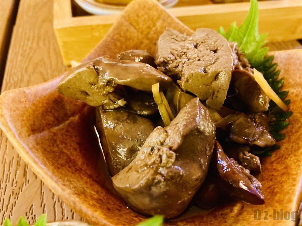 上海舌助 肝の煮つけ