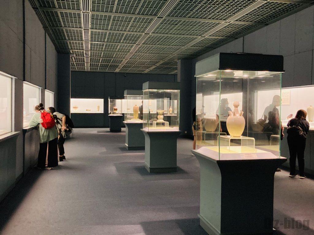 上海博物館陶器館館内展示