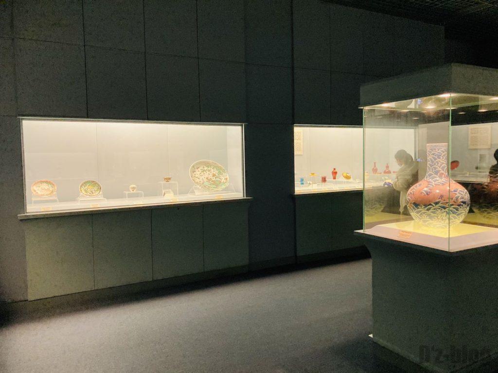 上海博物館陶器館陶器物陳列