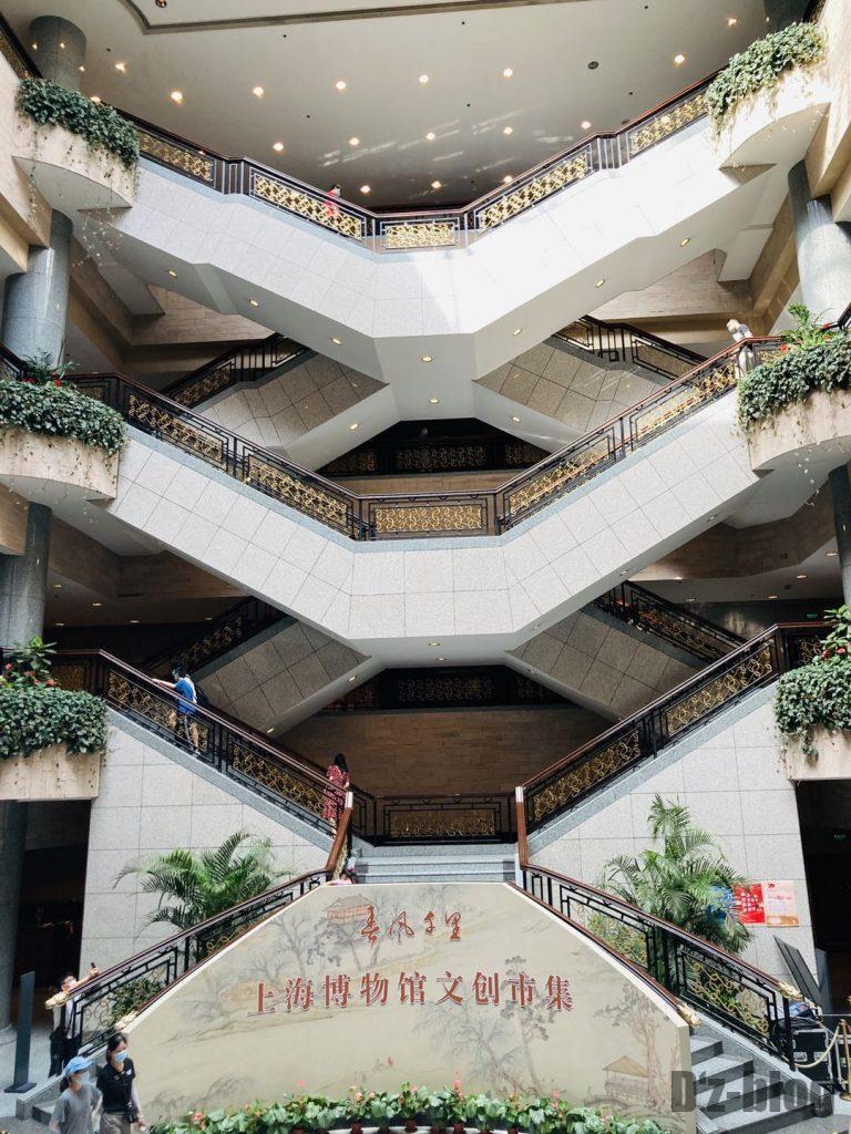 上海博物館階段