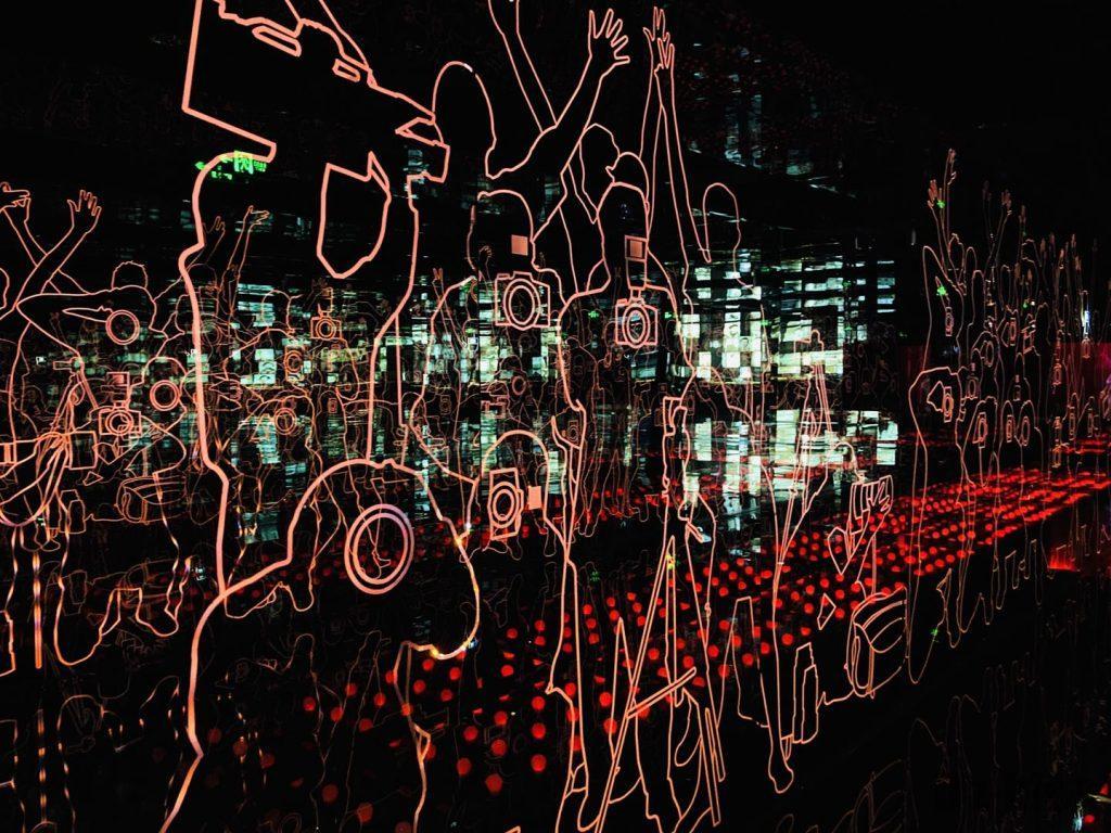 上海映画博物館壁記者アップ