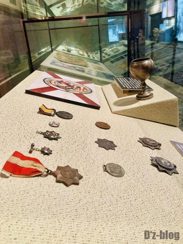 上海公安博物館 勲章