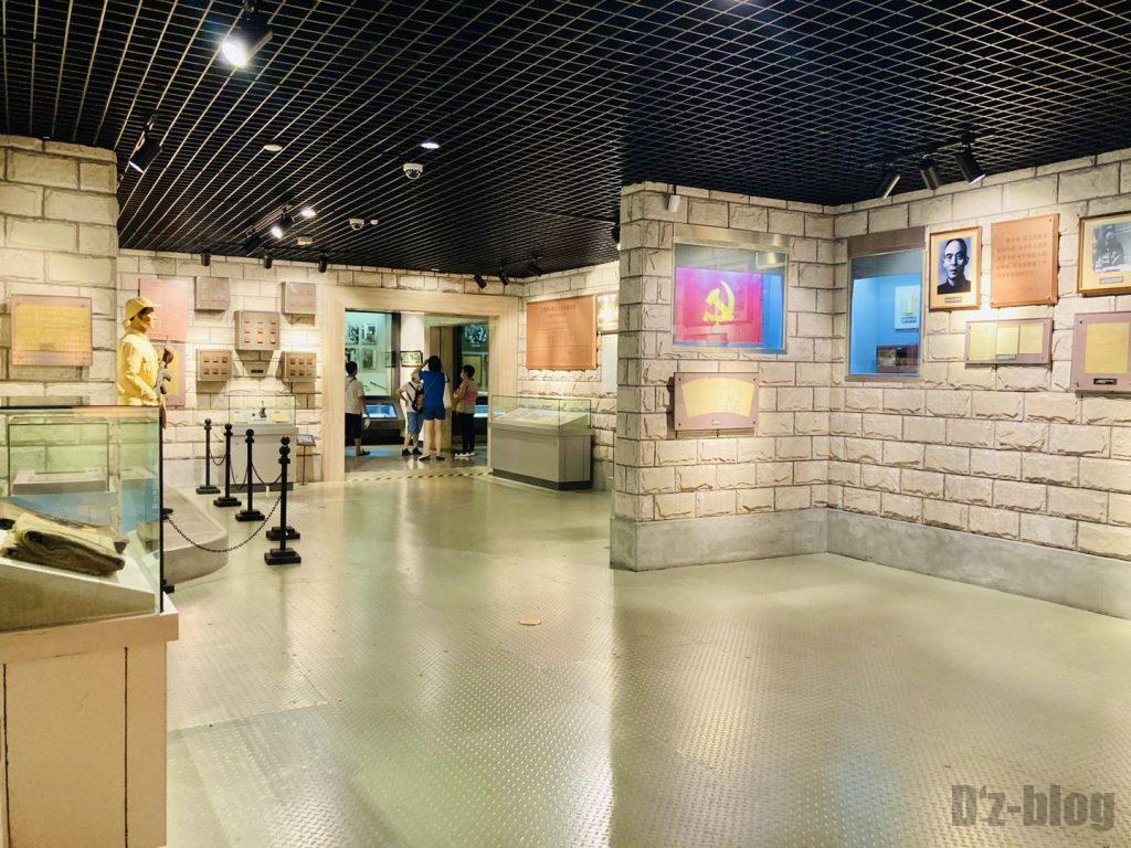 上海公安博物館 館内様子