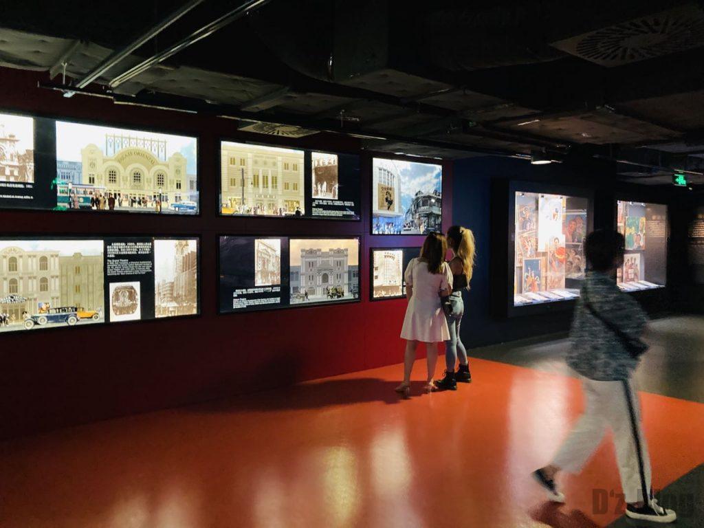上海映画博物館館内