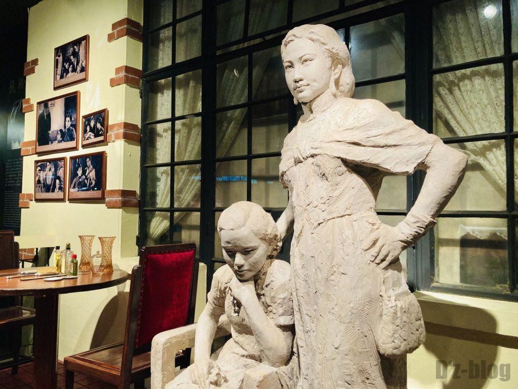 上海映画博物館館内撮影モデルアップ
