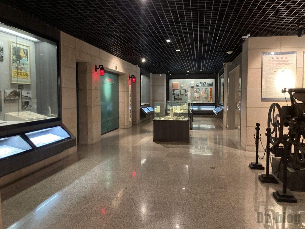 上海公安博物館 館内