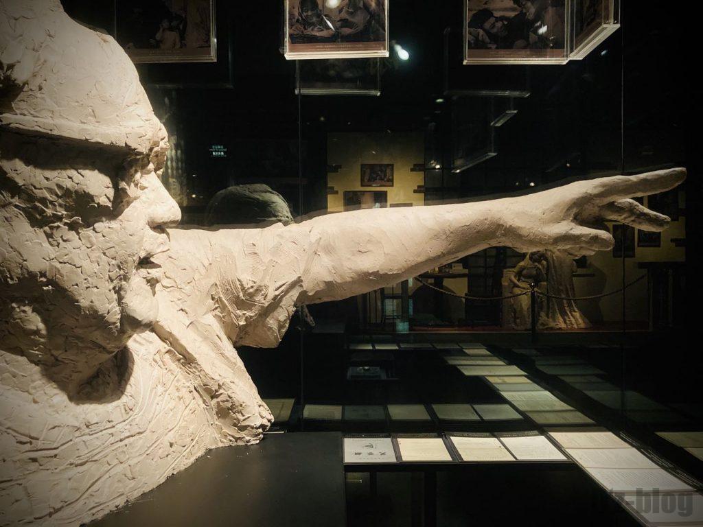 上海映画博物館銅像