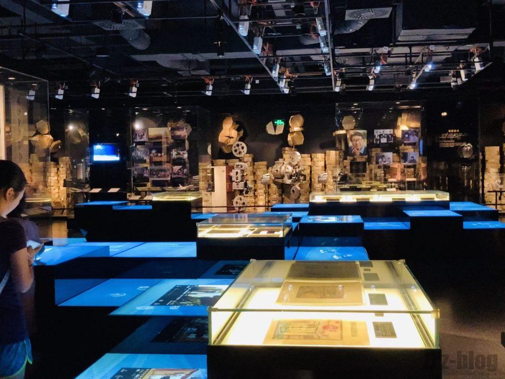 上海映画博物館館内一部全体