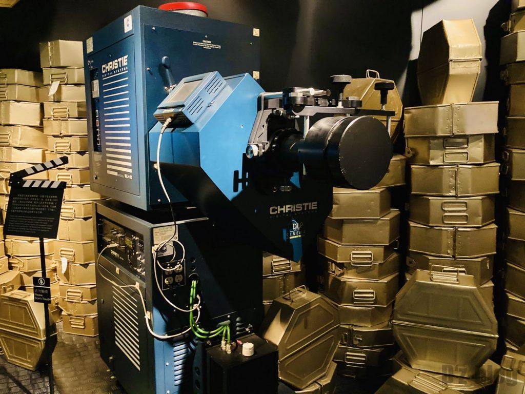 上海映画博物館撮影用機器