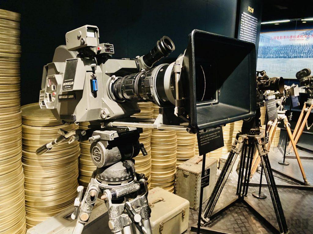 上海映画博物館撮影カメラ