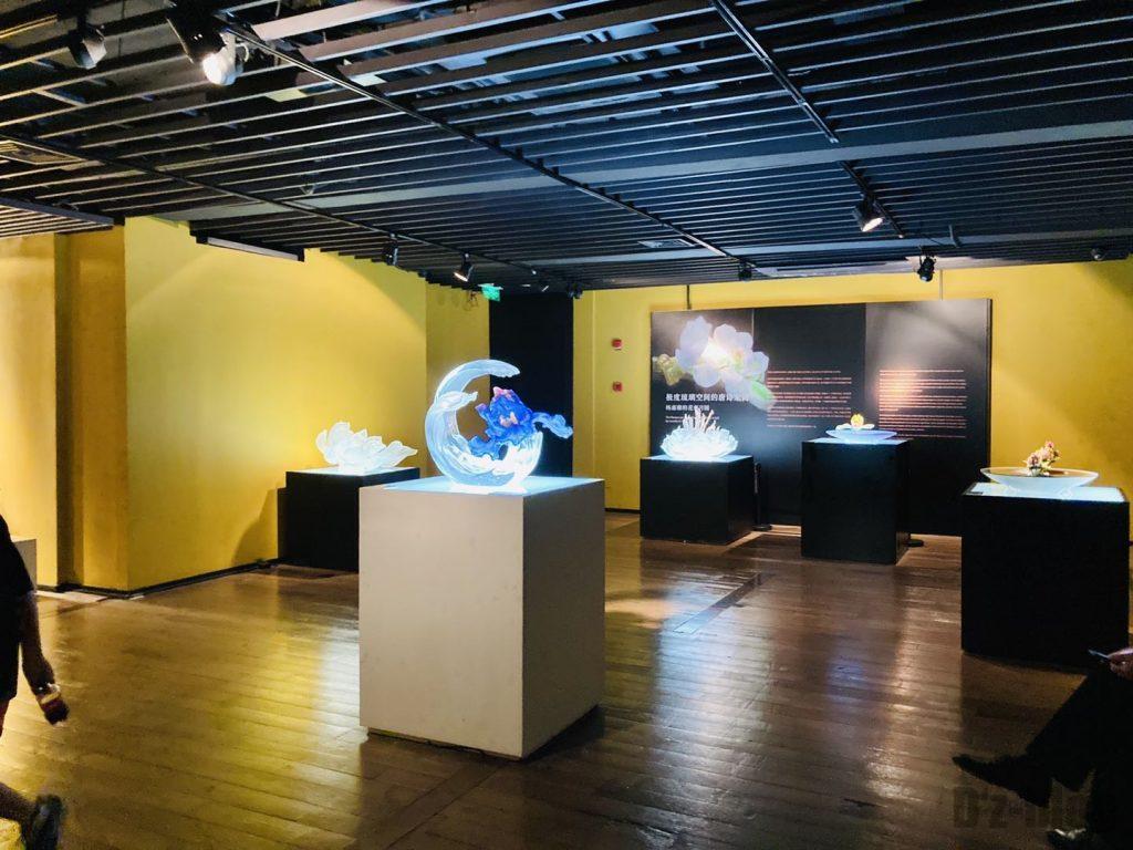 上海琉璃芸術博物館作品陳列