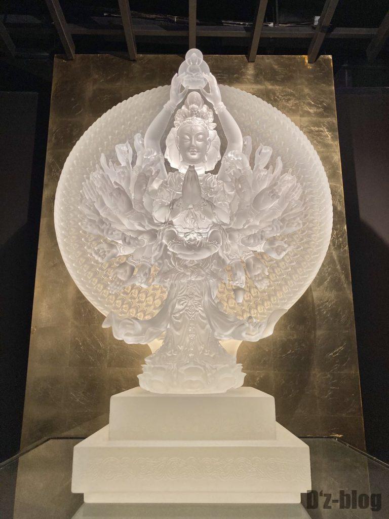 上海琉璃芸術博物館ガラスの仏