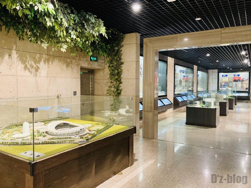 上海公安博物館 警察学校についての展示等