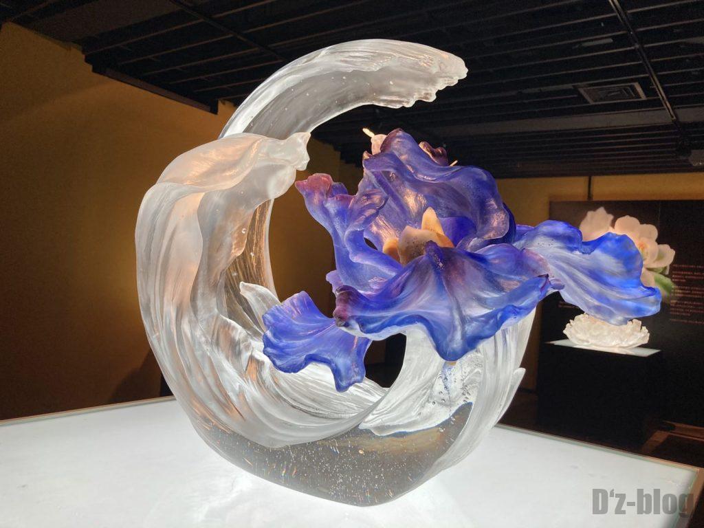 上海琉璃芸術博物館ガラス花