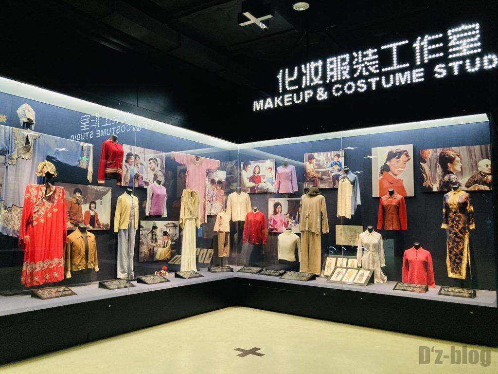 上海映画博物館撮影用衣装