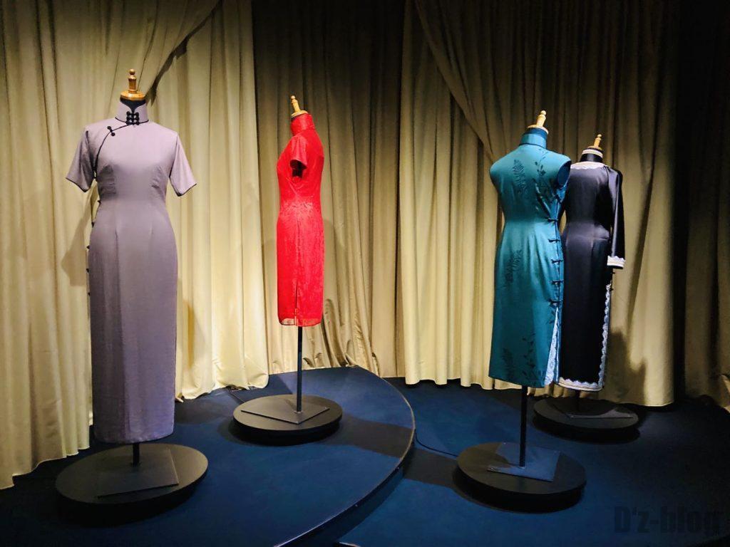 上海映画博物館撮影用チャイナドレス