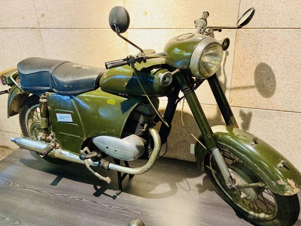 上海公安博物館 任務で使用していたバイク