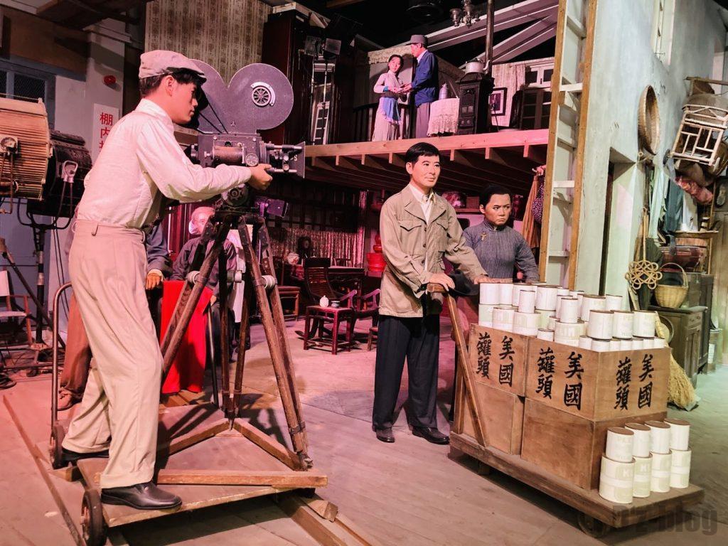 上海映画博物館撮影現場再現人形