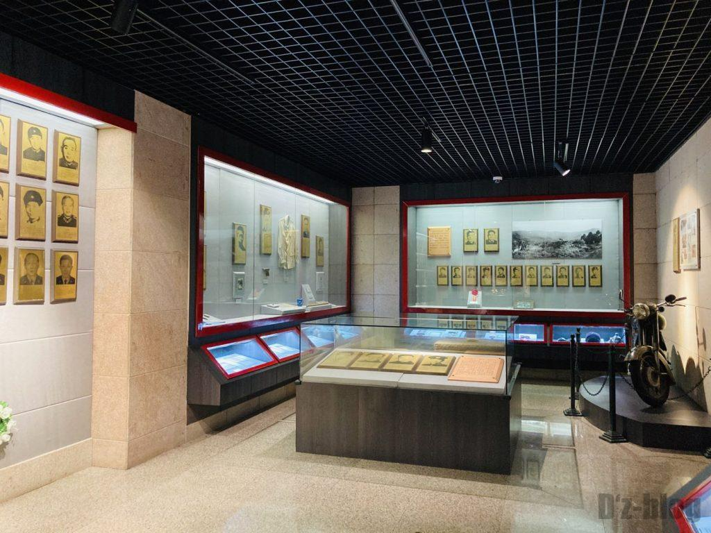上海公安博物館 警魂内展示