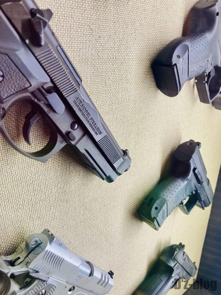 上海公安博物館 拳銃