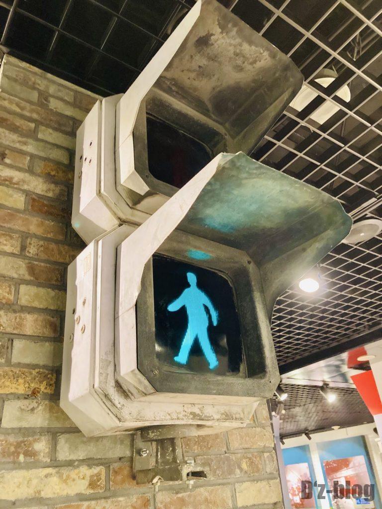 上海公安博物館 横断信号機