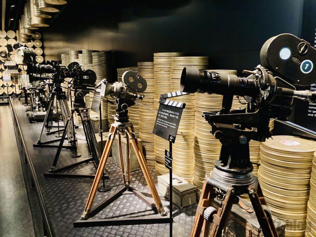 上海映画博物館撮影用カメラ