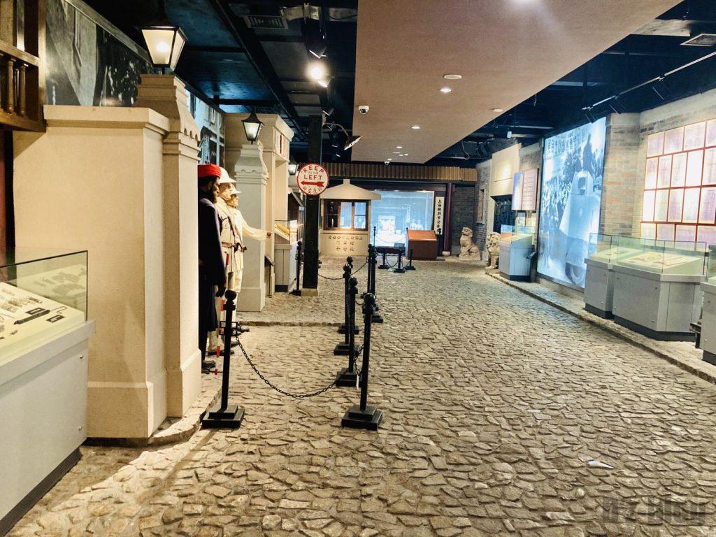 上海公安博物館 史館館内