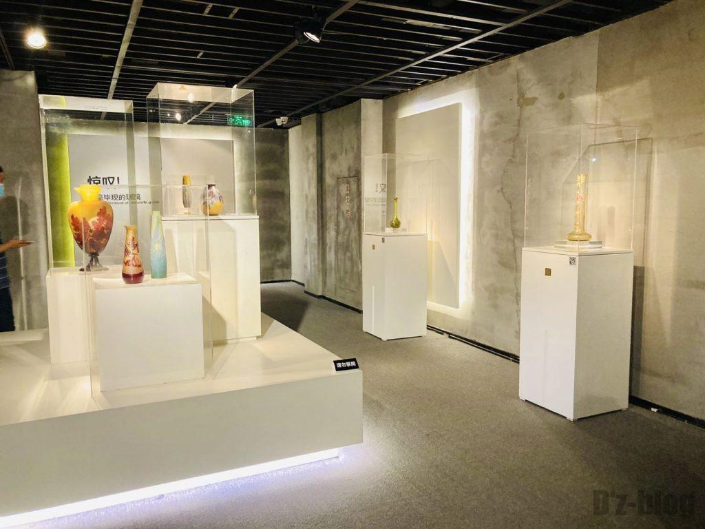 上海琉璃芸術博物館館内