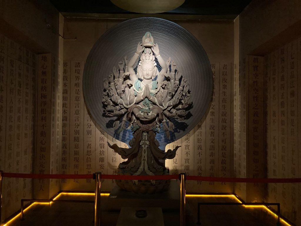 上海琉璃芸術博物館土で作られた作品